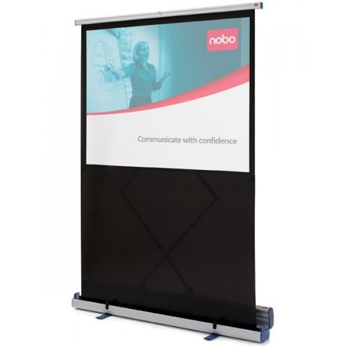 Ekran podłogowy NOBO - przekątna 200 cm