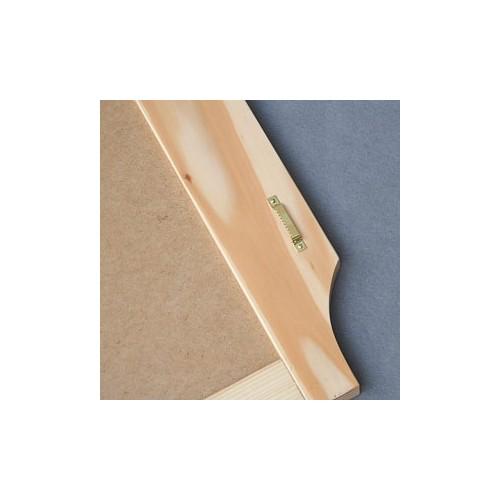 Tablica kredowa w ramie drewnianej 60 × 75 cm