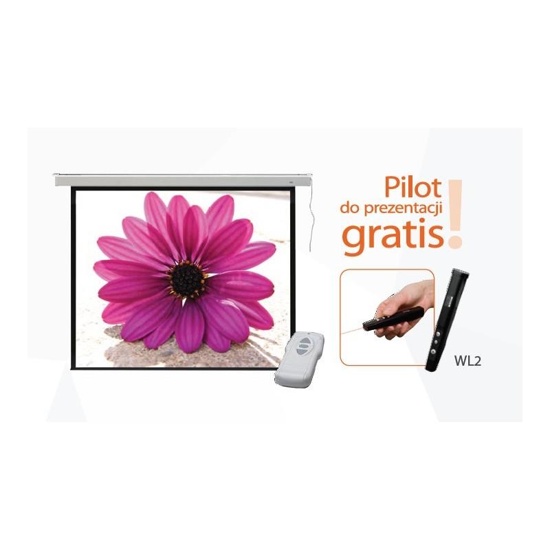 236x175 Ekran projekcyjny elektryczny PROFI + pilot gratis!