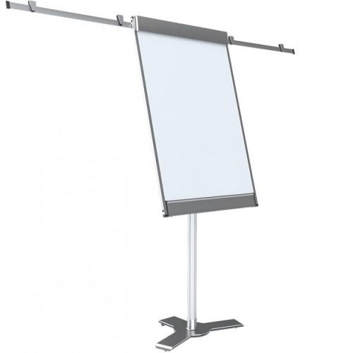 Flipchart 2x3 Starboard mobilny 71,5x108 cm