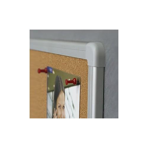 Tablica korkowa w ramie aluminiowej 60x45 seria officeBoards