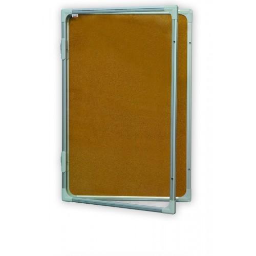 Gablota dwuczęściowa korkowa 180x120
