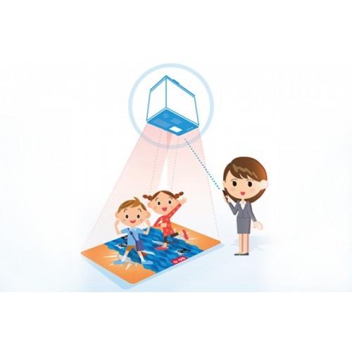 Interaktywna podłoga - magiczny dywan