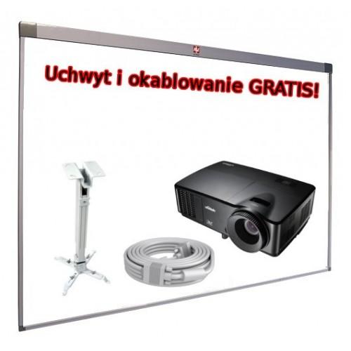Zestaw Interaktywny, AVTEK TT-Board 3000 + Vivitek DX 255 + uchwyt i kable