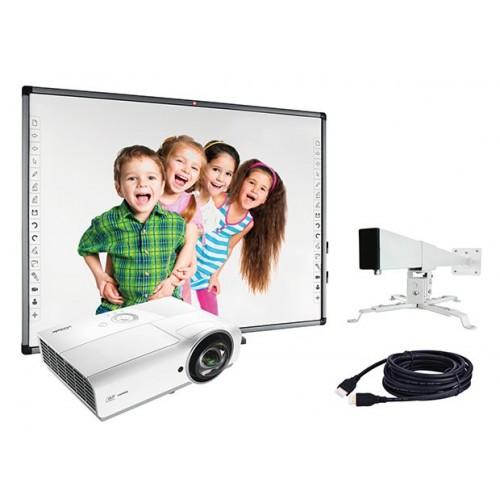 Zestaw interaktywny AVTEK PRO 2 (TT-Board 80 pro, DX881ST, WallMount 1200)