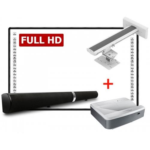 ZESTAW INTERAKTYWNY BLACK FULL HD LUX 90