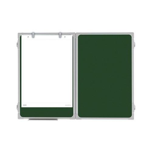 Tablica rozkładana kredowa zielona ceramiczna 170x100/340