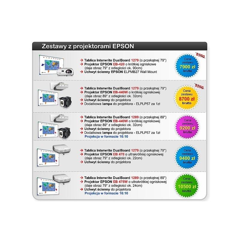 Promocyjna cena na Zestawy Interaktywne Interwrite Epson + liczne gratisy