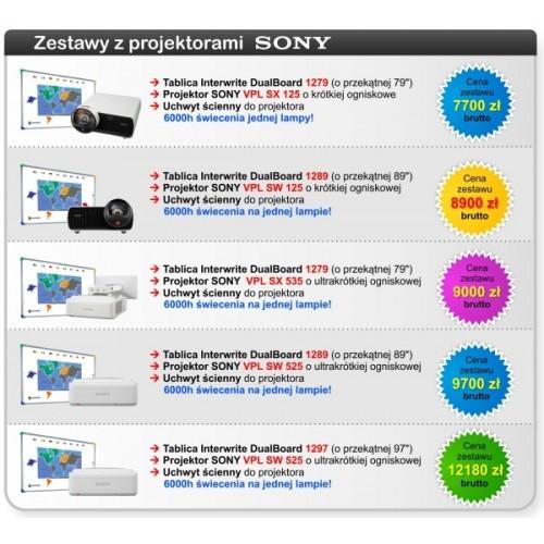Promocyjna cena na Zestawy Interaktywne Interwrite Sony + liczne gratisy