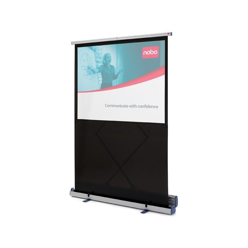 Ekran podłogowy NOBO - przekątna 189 cm