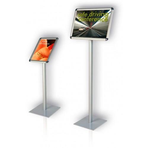 Tablica informacyjna na stojaku 297×210 mm ekran w poziomie
