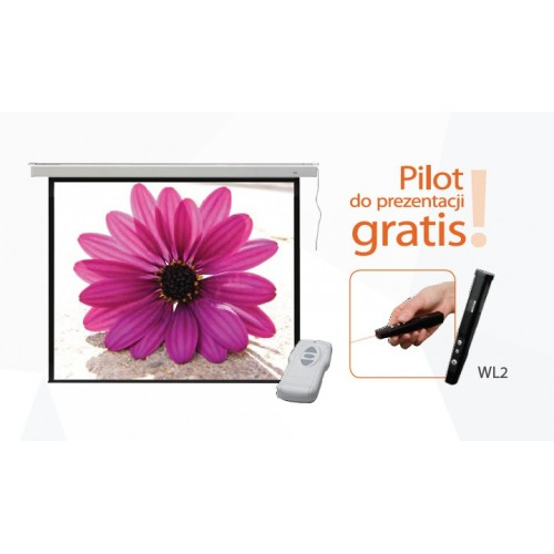 """Ekran projekcyjny elektryczny 2x3 PROFI 120"""""""