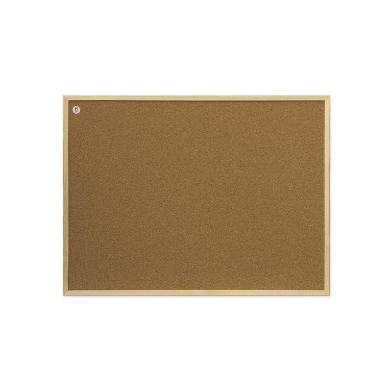 Tablica korkowa w ramie drewnianej 40x30 seria ecoBoards