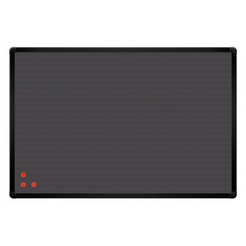 Tablica PinMag 90 x 60 cm czarna rama