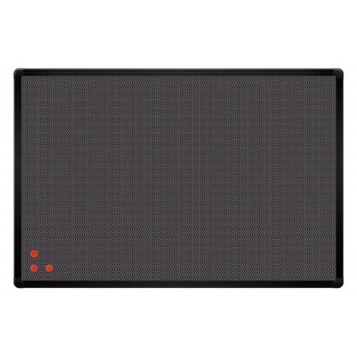 Tablica PinMag 120 x 90 cm czarna rama
