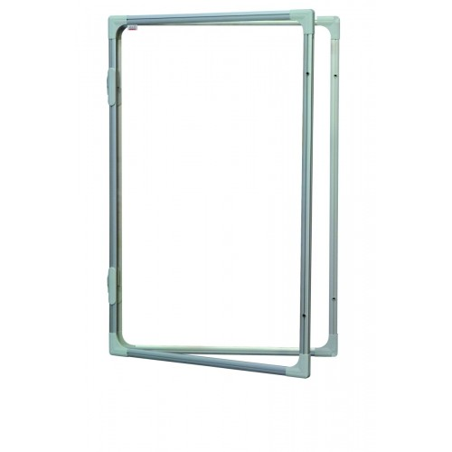 Gablota lakierowana 2x3 suchościeralna i magnetyczna wewnętrzna 90x120