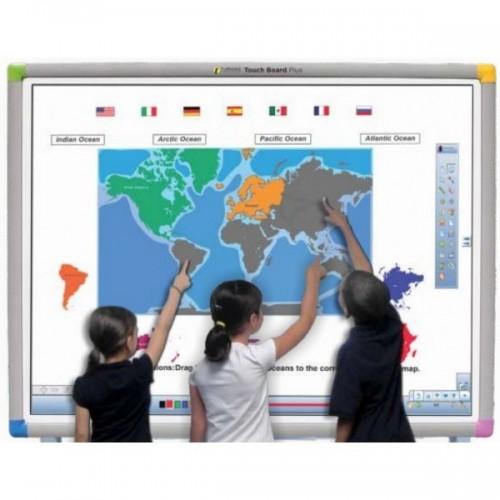 Zestaw Tablica interaktywna Touch Board 1078 PLUS+ projektor Benq MX808ST+ uchwyt ścienny