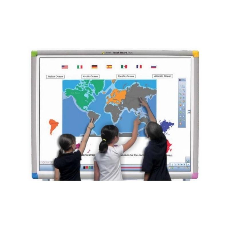 Zestaw Tablica interaktywna Touch Board 1078 PLUS+ projektor Benq MX806ST+ uchwyt ścienny