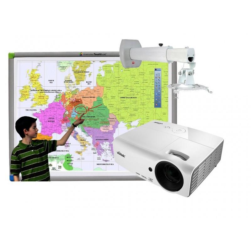 Zestaw interaktywny TouchBoard FullHD