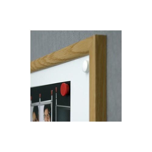 Tablica suchościeralna Office 90x60 cm w ramie MDF