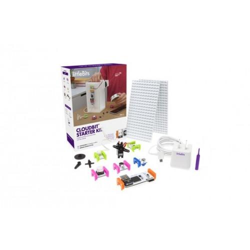 Klocki elektroniczne - Little Bits cloutBit starter kit
