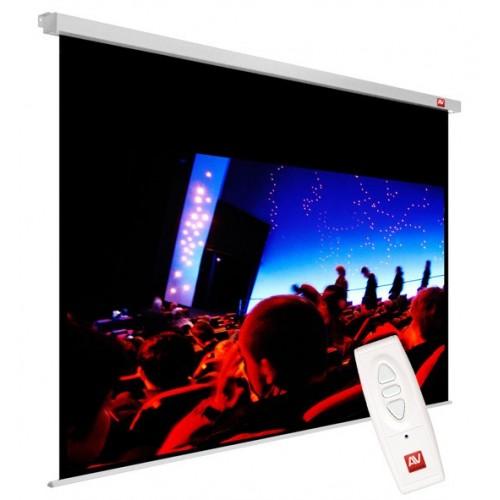 Ekran projekcyjny elektryczny AVtek Cinema Electric 240MG 16:9