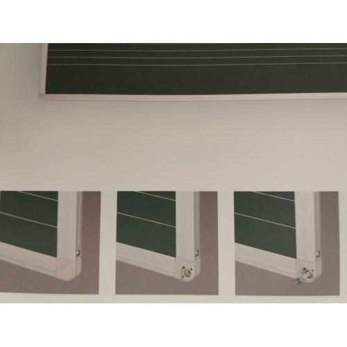 Tablica kredowa lakierowana z nadrukiem w pięciolinie 170x100