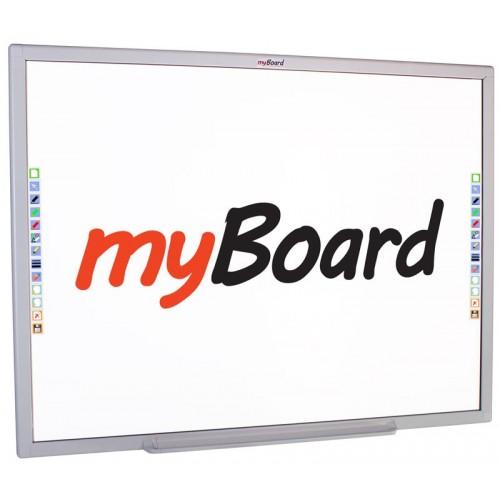 Tablica interaktywna MyBoard Silver 84C - ceramiczna