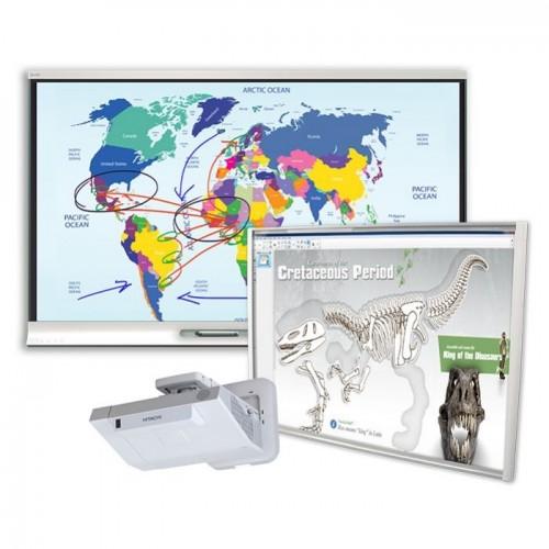Zestaw interaktywny Smart SBM680V, Hitachi CP-AX2505 + Monitor interaktywny SMART Board 6065 - Aktywna Tablica
