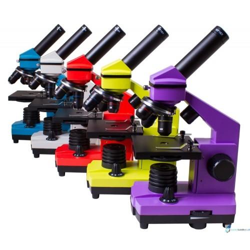 Mikroskop Levenhuk Rainbow 2L dostępny w kilku kolorach