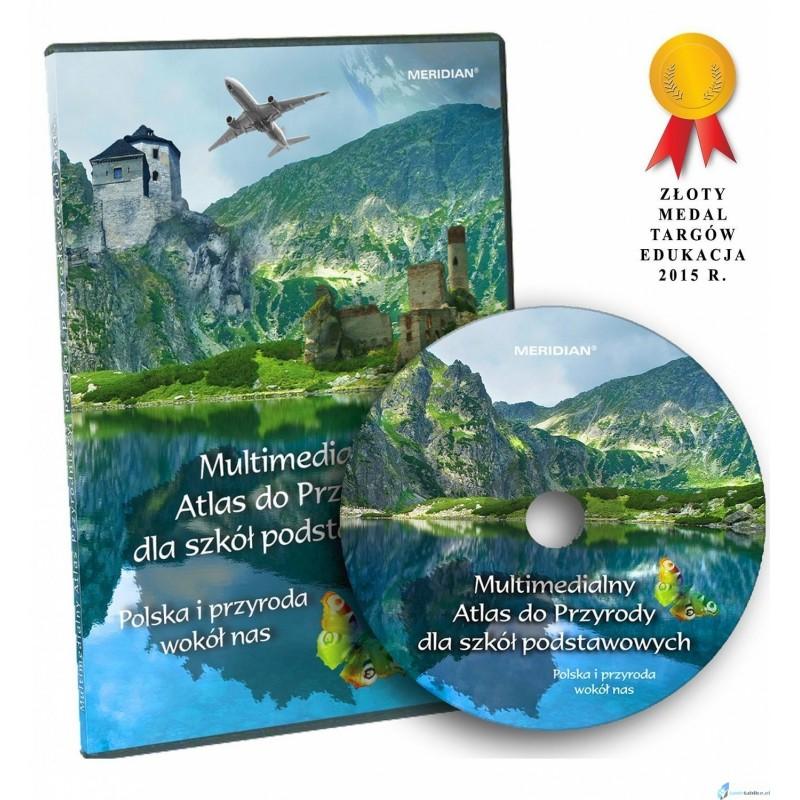 Multimedialny Atlas dla Szkół Podstawowych. Polska i przyroda wokół nas