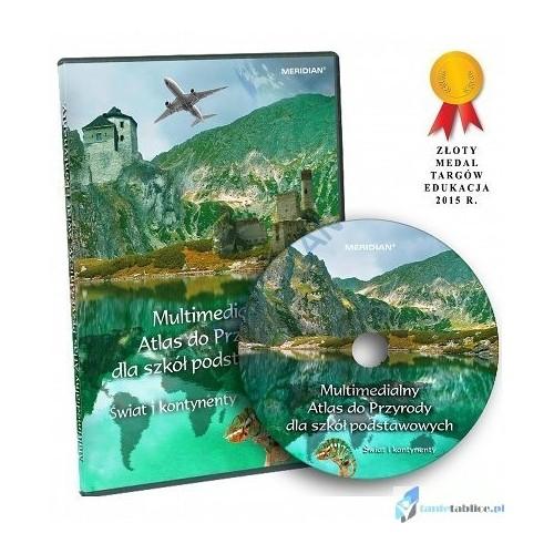Multimedialny Atlas dla Szkół Podstawowych. Świat i kontynenty