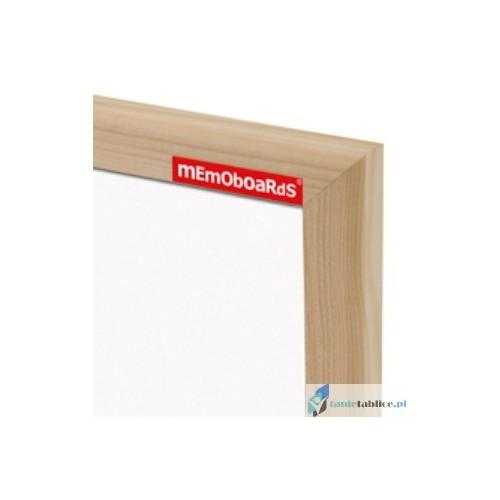 Tablica suchościeralna w ramie drewnianej [memoboards]