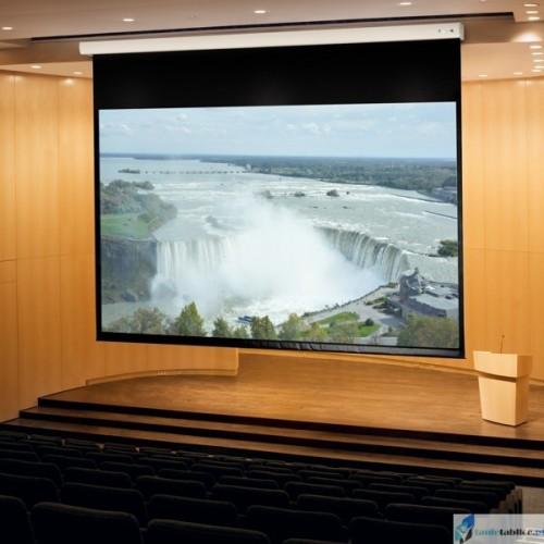 Ekran projekcyjny SUPREMA ANDROMEDA 16:9 elektrycznie rozwijany Matt Grey HD