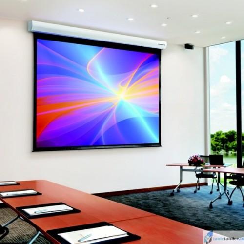 Ekran projekcyjny SUPREMA ANDROMEDA ELEGANT IM 16:9 elektrycznie rozwijany Matt Grey HD