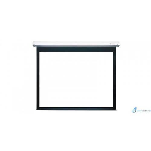 Ekran projekcyjny SUPREMA HERKULES biała kaseta elektrycznie rozwijany Matt White HD