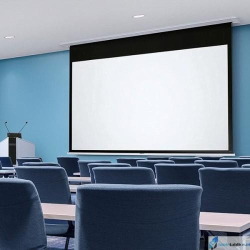 Ekran projekcyjny SUPREMA POLARIS 4:3 zabudowa sufitowa elektrycznie rozwijany Matt White HD