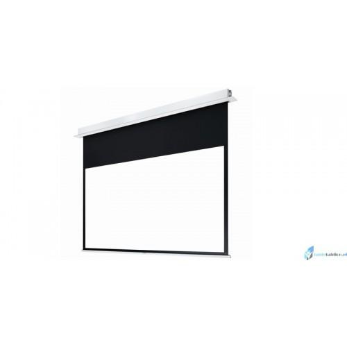Ekran projekcyjny SUPREMA POLARIS PRO elektrycznie rozwijany Matt Grey HD