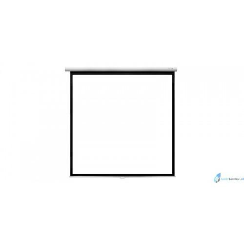 Ekran projekcyjny SUPREMA FENIKS 4:3 ręcznie rozwijany Matt White