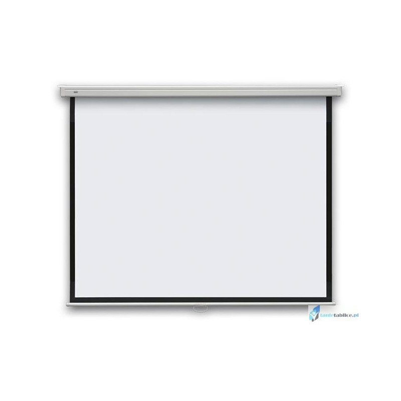 165x122 Ekran projekcyjny manualny ścienny 2x3