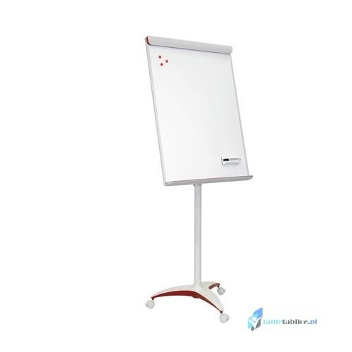 Flipchart 2x3 RED Mobilechart 70x100