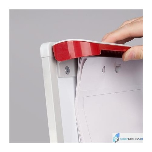 Flipchart 2x3 RED Mobilechart 70x100