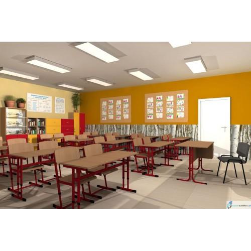 Krzesło szkolne REKS z regulacją wysokości