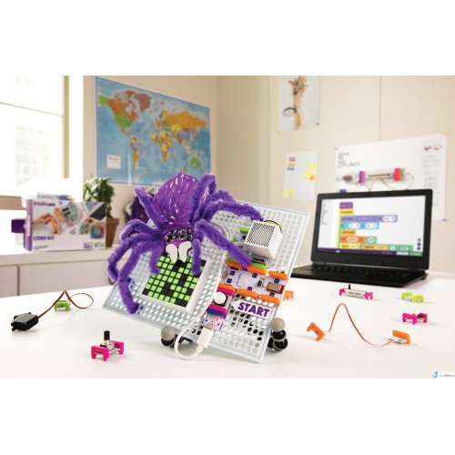 Klocki elektroniczne interaktywne Little Bits Code Kit