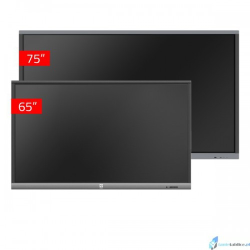 Zestaw interaktywny 1 x monitor interaktywny Avtek TouchScreen 5 Connect 75 + 1 x  Avtek TouchScreen 5 Lite 65