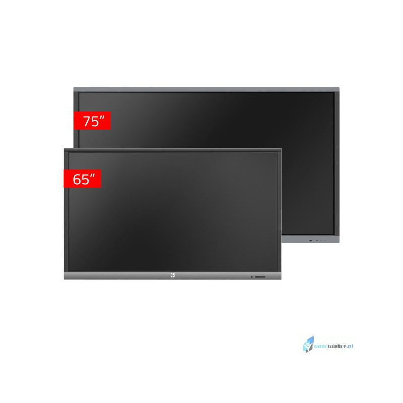 Zestaw interaktywny 1 x monitor interaktywny Avtek TouchScreen 5 Connect 75 + 1 x  Avtek TouchScreen 5 Lite 65