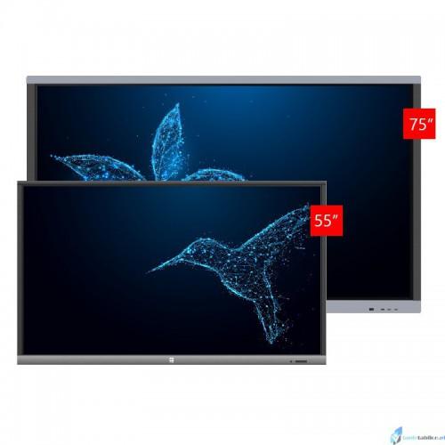 Zestaw interaktywny monitor interaktywny Avtek TouchScreen 5 Lite 55 + Avtek TouchScreen 5 Connect 75