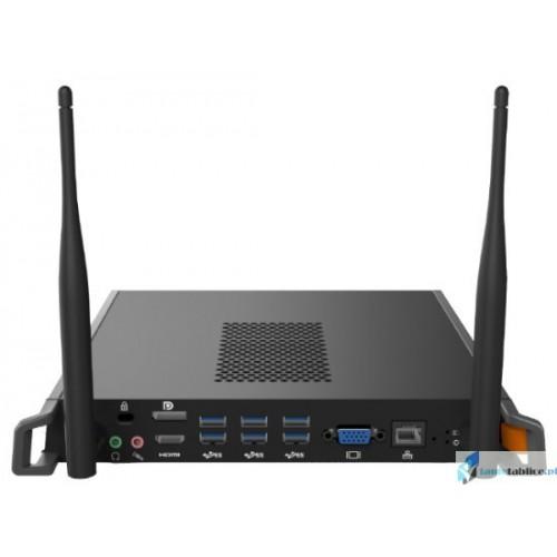 Zestaw interaktywny 2 x monitor interaktywny Avtek TouchScreen 5 Lite 65 + 2 x komputer OPS 4K intel i3