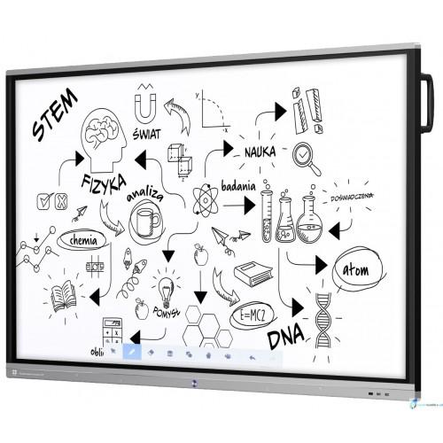 Monitor interaktywny Avtek Touchscreen 5 Connect+ 86