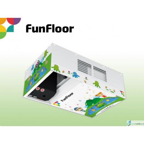 Interaktywna Podłoga zestaw FunFloor EDU magiczna podłoga dla edukacji 210 GIER